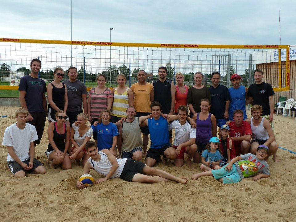Internes Mixed Beachturnier